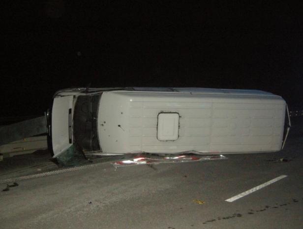 Аналогічна аварія трапилася на день раніше на тій же дорозі