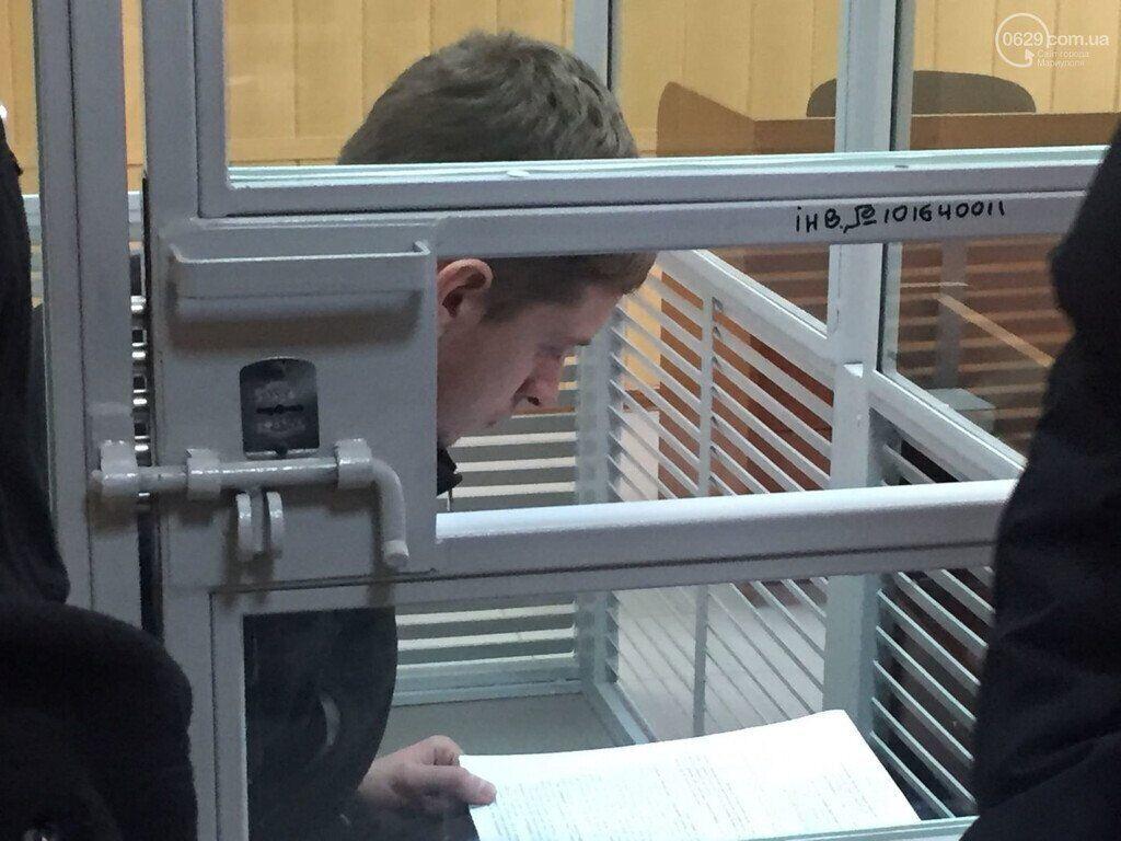 Роман Джумаєв на засіданні суду