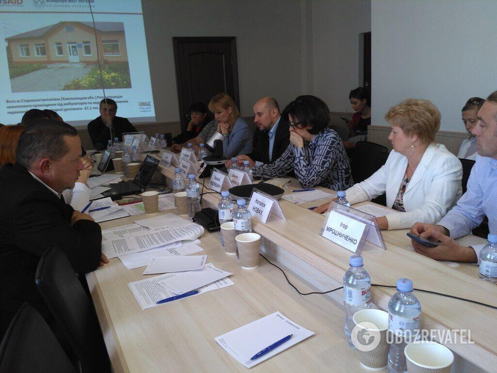Засідання круглого столу 17 вересня