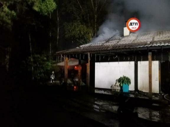 Пожежа на дачі Гонтаревої