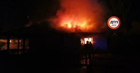 Вогонь повністю знищив будівлю