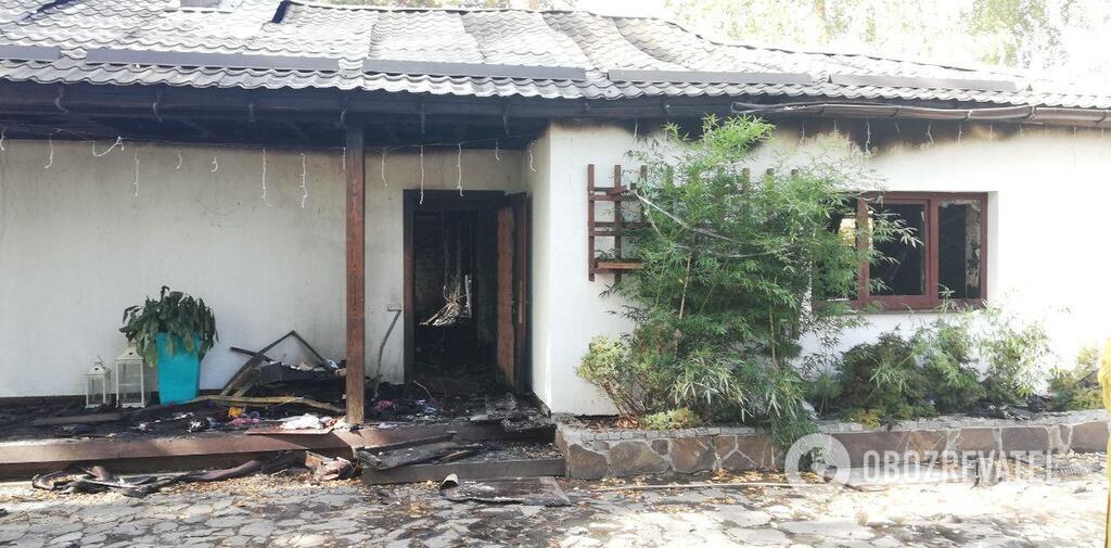 Під Києвом трапилася пожежа на дачі Гонтаревої