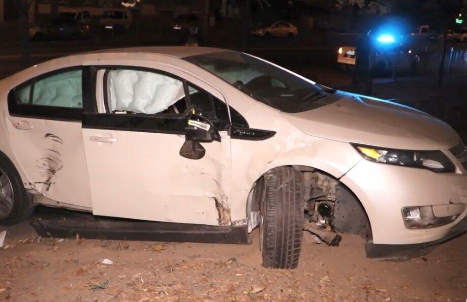 Авто клієнта СТО зіткнулося з іншою машиною
