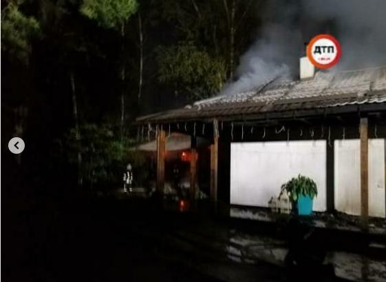 Під Києвом у будинку Гонтаревої влаштували пожежу