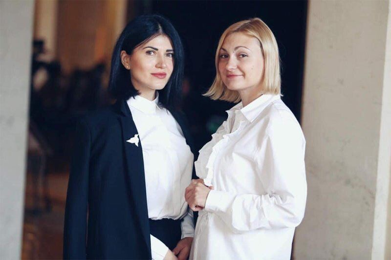Ольга Туній і Євгенія Кравчук