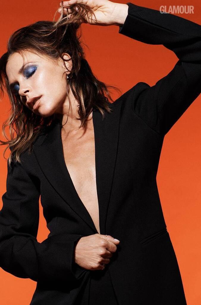 Вікторія Бекхем у фотосесії Glamour