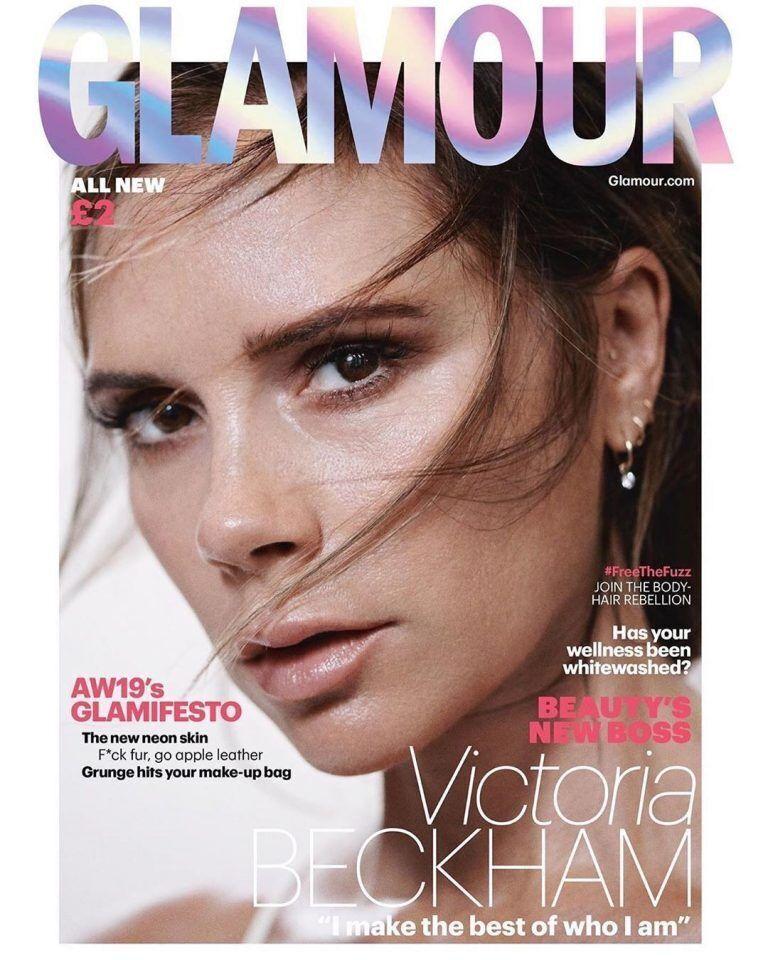 Вікторія Бекхем прикрасила обкладинку Glamour