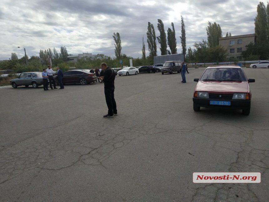 Вбивство на АЗС у Миколаєві