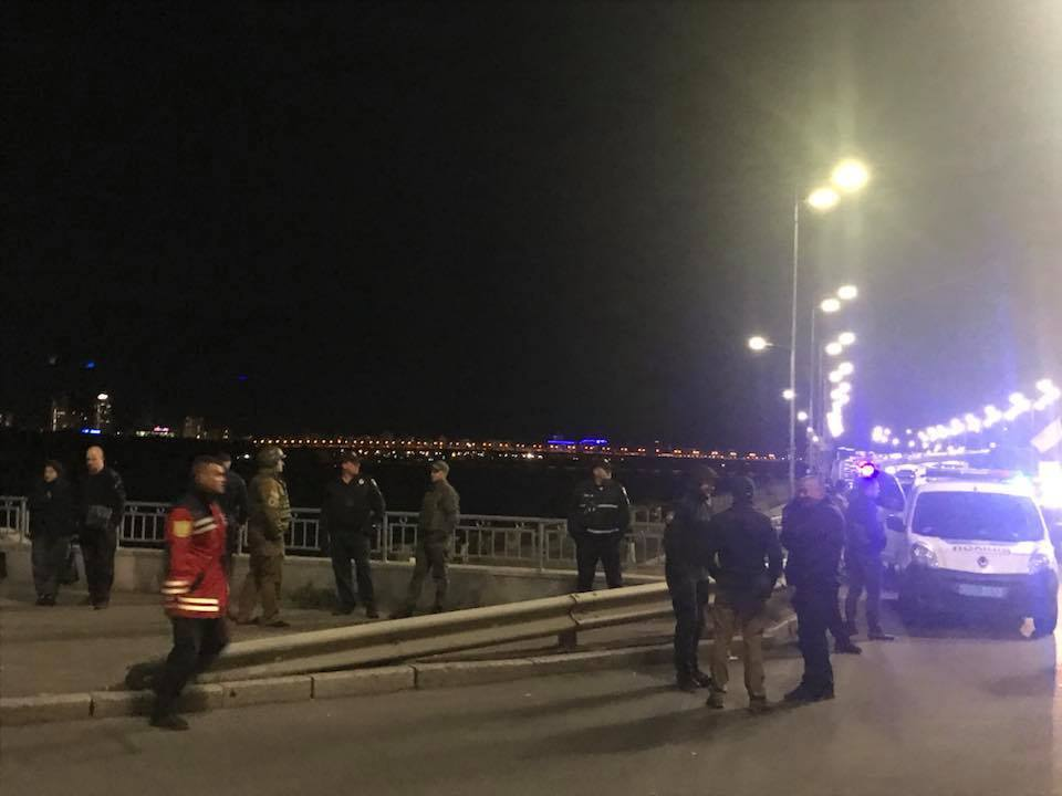 """Минера"" моста Метро задержали"