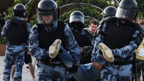 Аресты в России