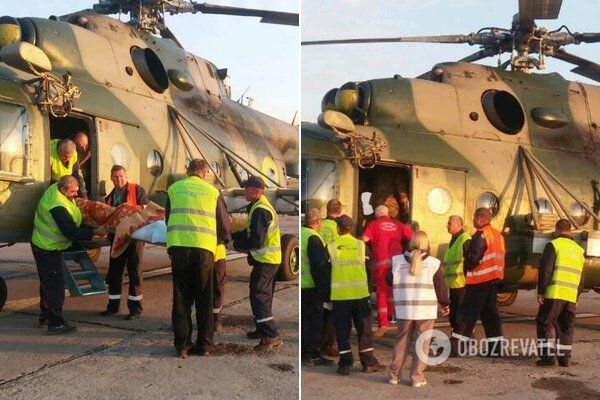 У Дніпро екстрено доправили бійців із Донбасу