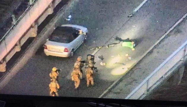 """Белько, """"захватившего"""" мост Метро, задержала полиция"""