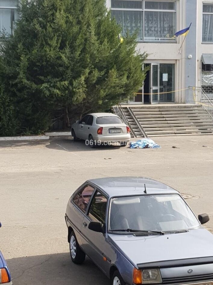 Фото з місця вбивства Дмитра Кириллова