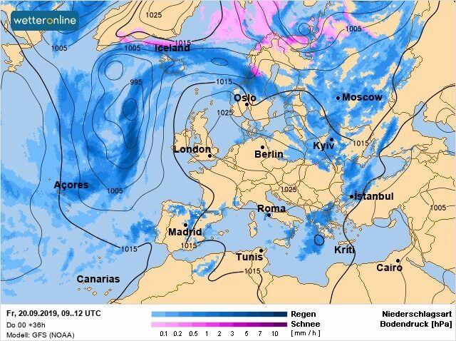 Синоптик предупредила о заморозках и снеге в Украине