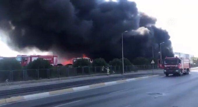У Туреччині вибухнув хімзавод