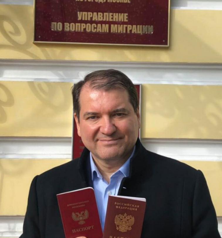 Корнілов похвалився паспортом від Путіна