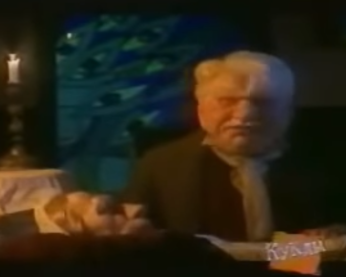 Ельцин и Путин в образе Крошки Цахеса