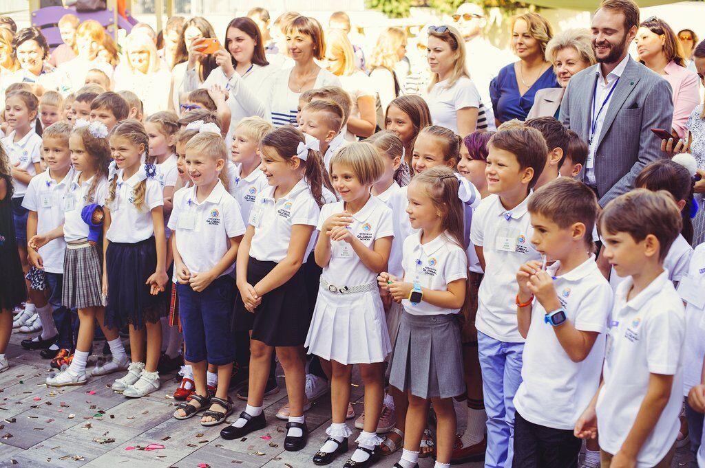 Перший дзвінок в Ukrainian Global School