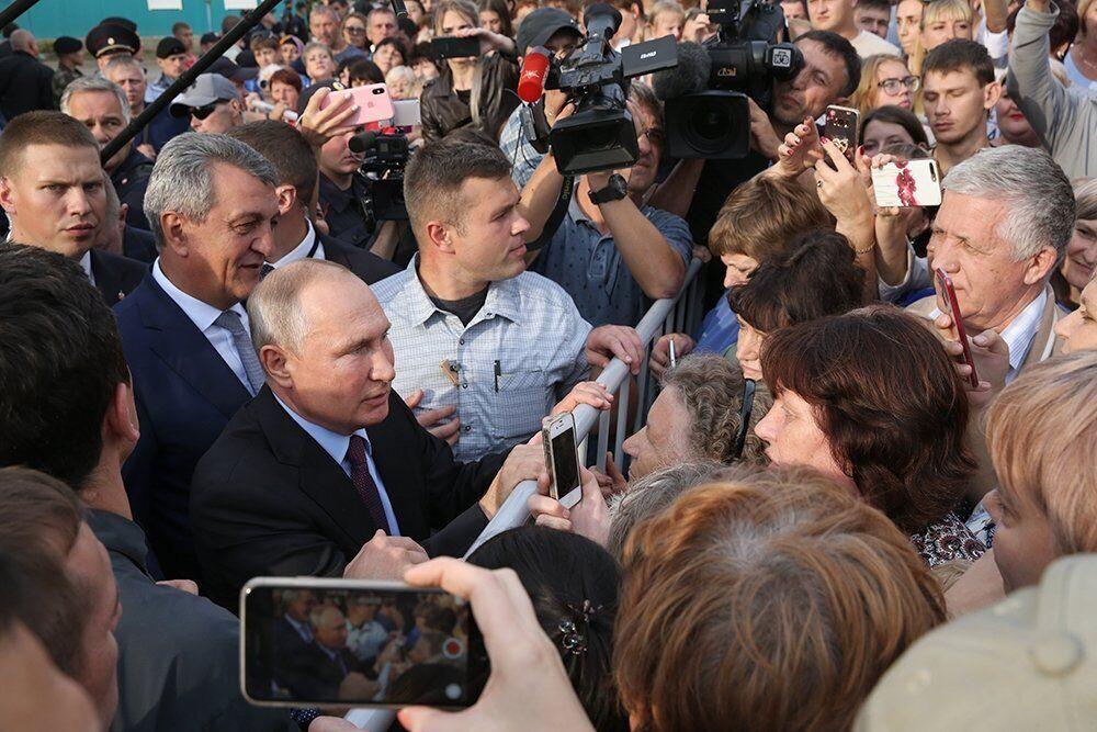 Путін у Тулуні