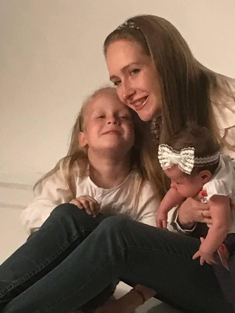 Яна Чистякова с детьми