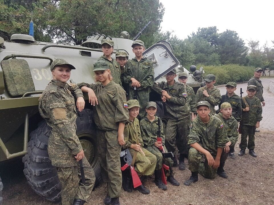 Военные лагеря в Крыму