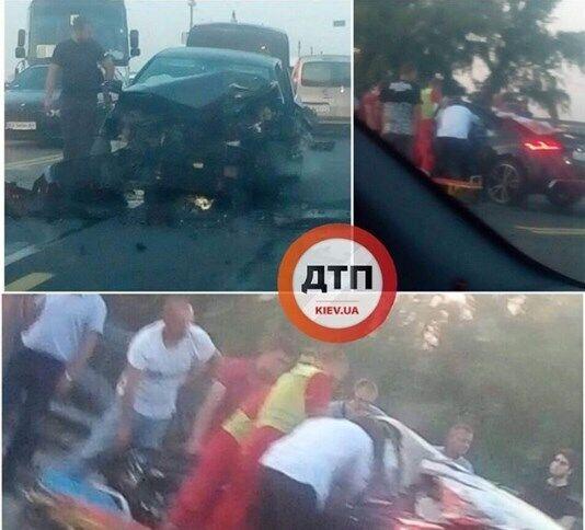 У Києві на мосту Патона трапилася ДТП
