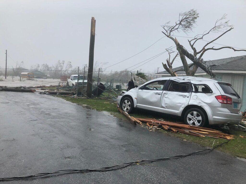 """На США обрушился ураган """"Дориан"""""""