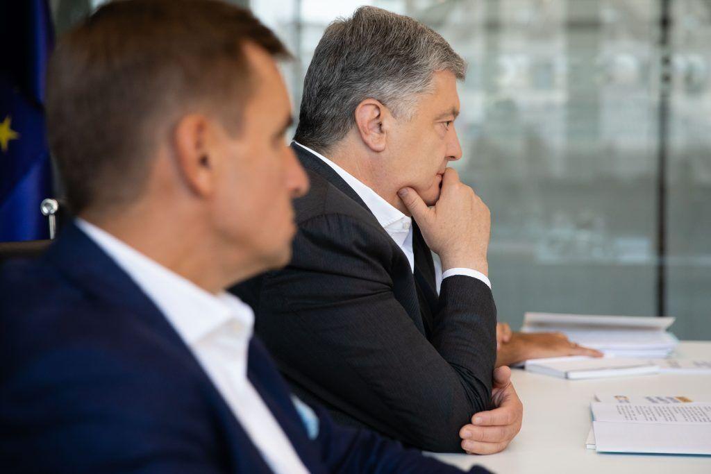 Петро Порошенко на зустрічі з Чолієм