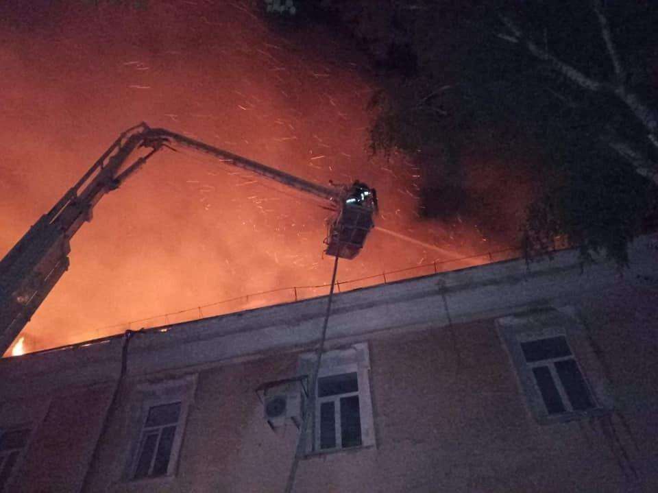 Пожежа в Луцьку
