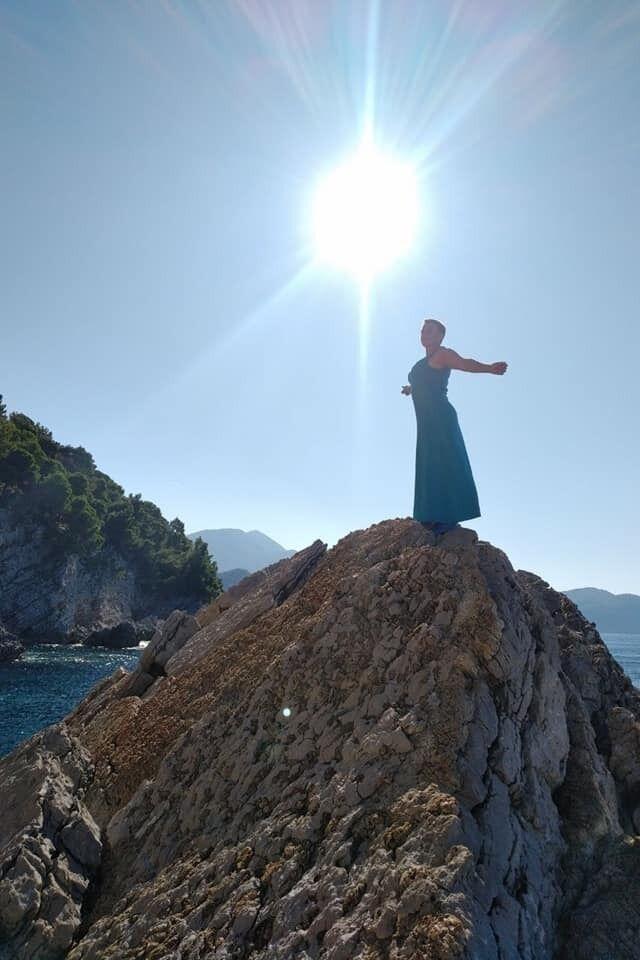 Надія Савченко у новій морській фотосесії