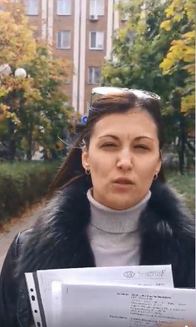 В пятницу Олена Даниленко написала заявление в полицию на коллекторов