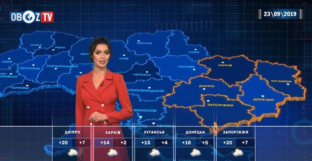 """Погодні """"гойдалки"""" в Україні: прогноз на 23 вересня від ObozTV"""
