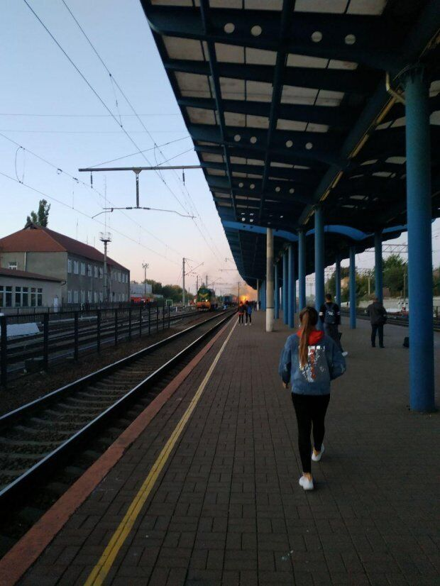 У Вінниці загорівся поїзд