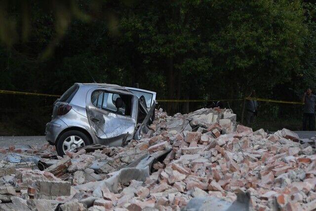 В Албании произошло мощное землетрясение