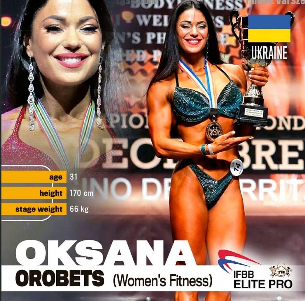 Оксана Оробец