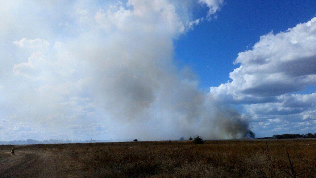 Пожежа в Криму