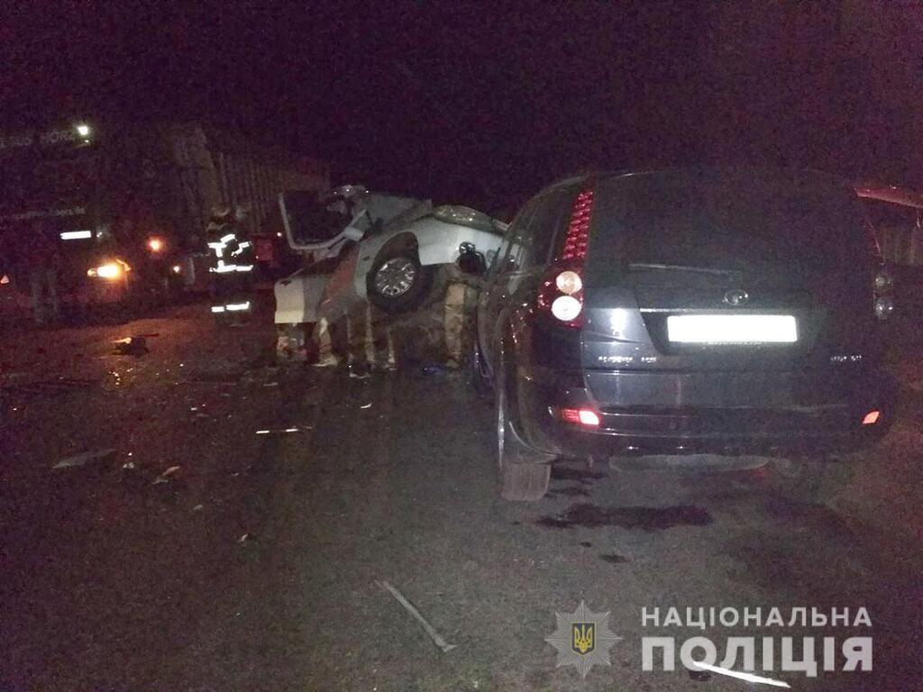 В Миргороде столкнулись три авто