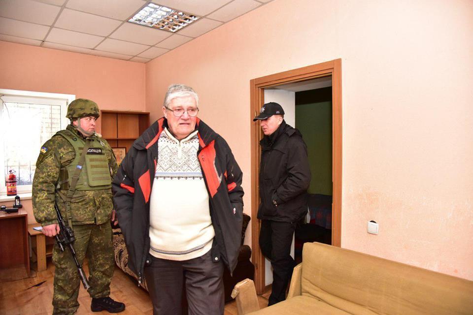 Вадим Каган, поїздка на Донбас у 2017 році