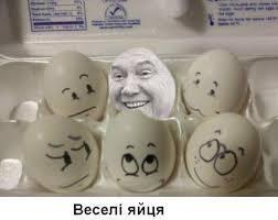"""Карикатура на """"яичное покушение"""""""