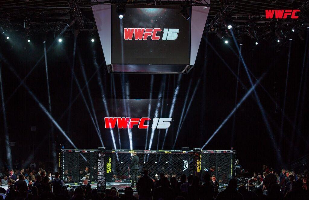 WWFC 15: все чемпионские пояса остались в Украине