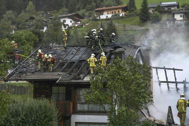 В Австрии произошел взрыв в магазине