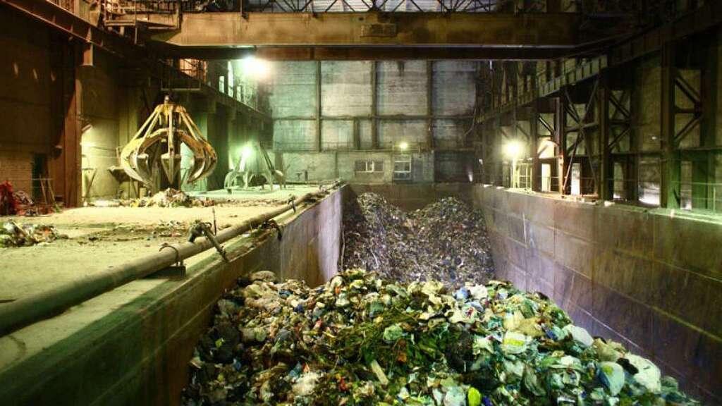 """Процес утилізації відходів на заводі """"Енергія"""""""