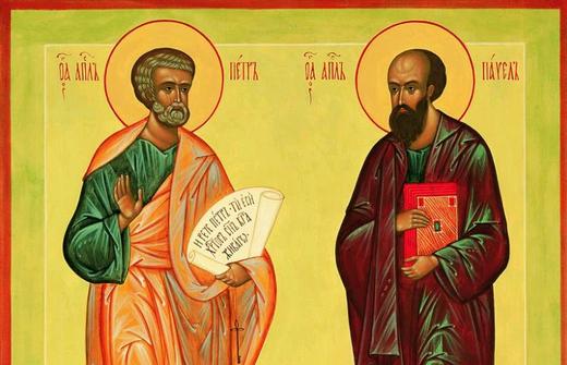 Святые Петр и Павел Никейские