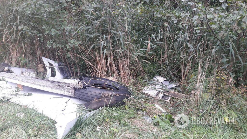 Фото з місця смертельної аварії під Житомиром