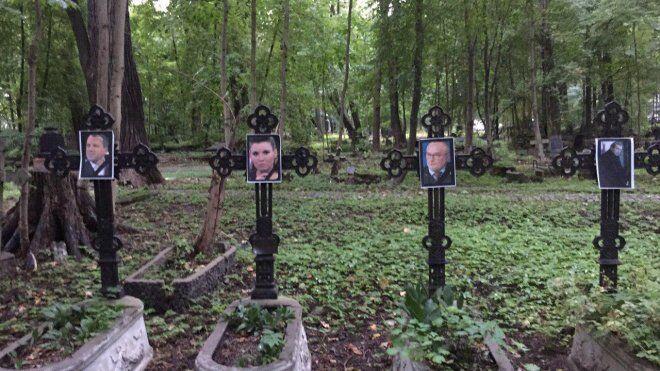 Кладбище в Петербурге