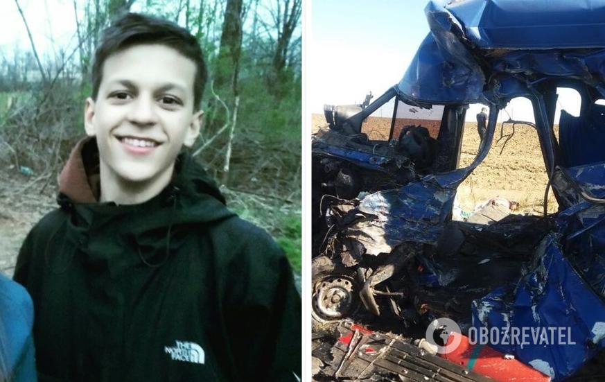 У ДТП загинув 17-річний Марк Редькін