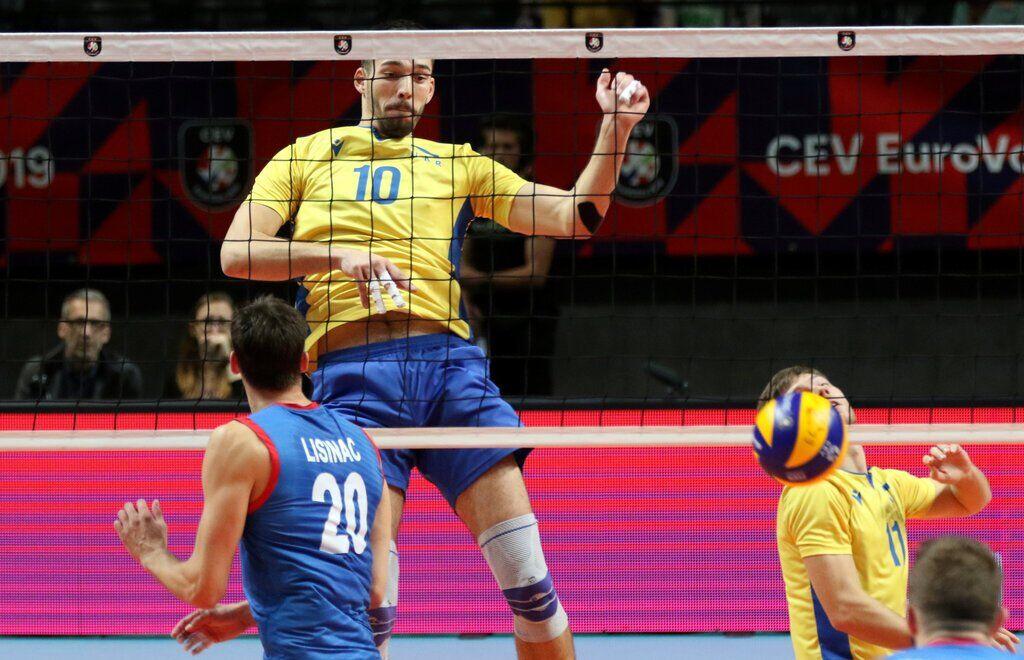 Сборная Украины по волейболу