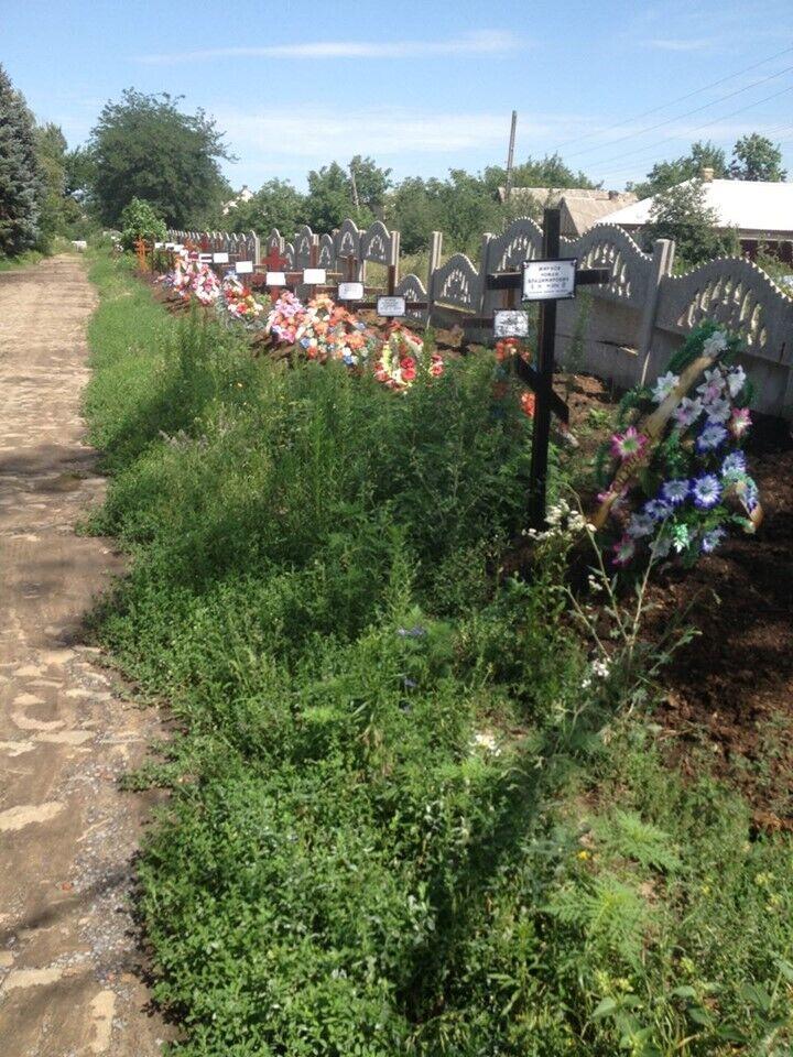 Місця поховань жертв терористів