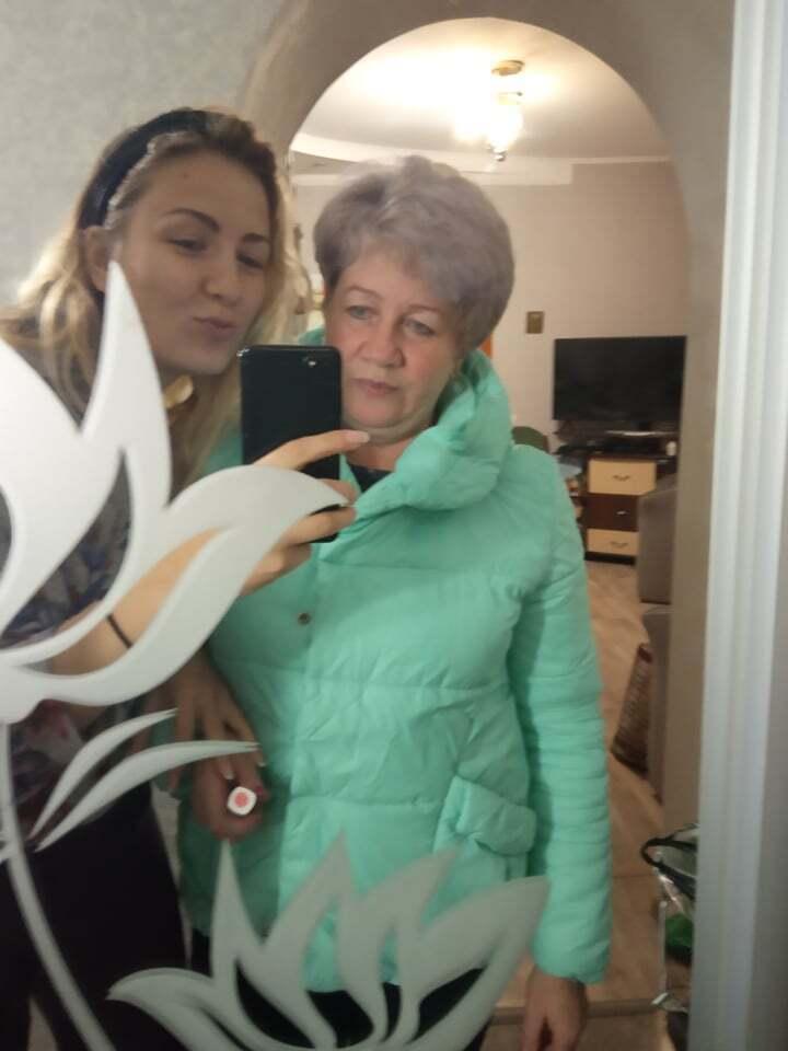 Останнє фото разом із донькою