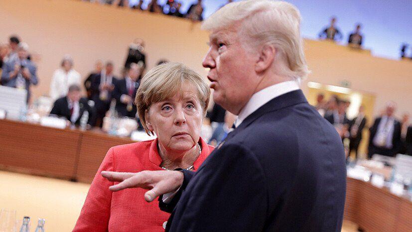 Трамп поскаржився Зеленському на Меркель